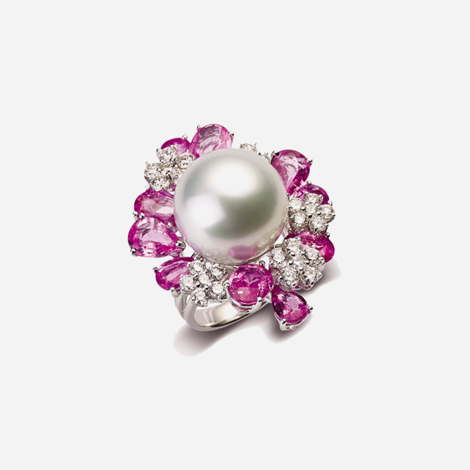 Touch Of Flamingo Ring