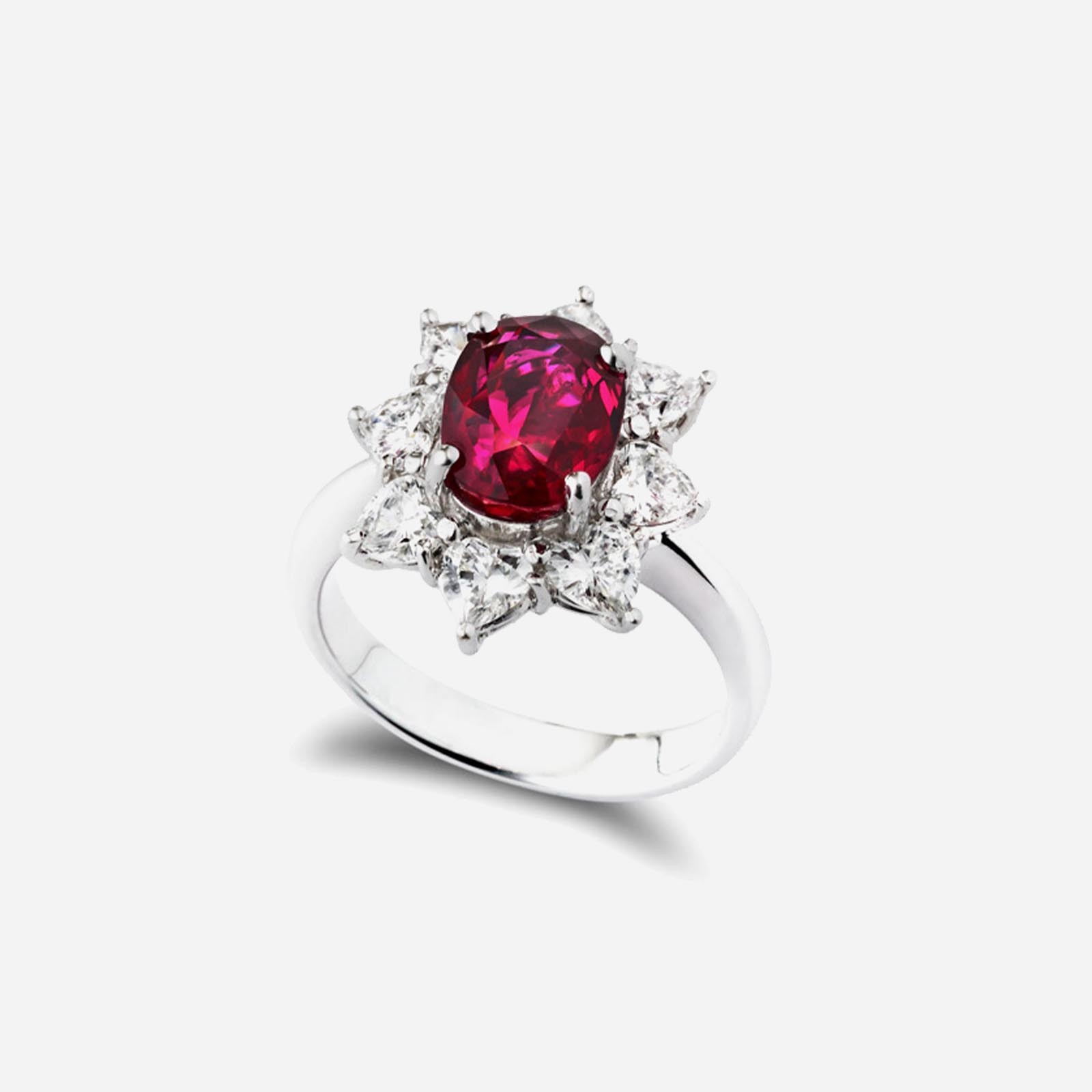 Glorious Ruby Ring