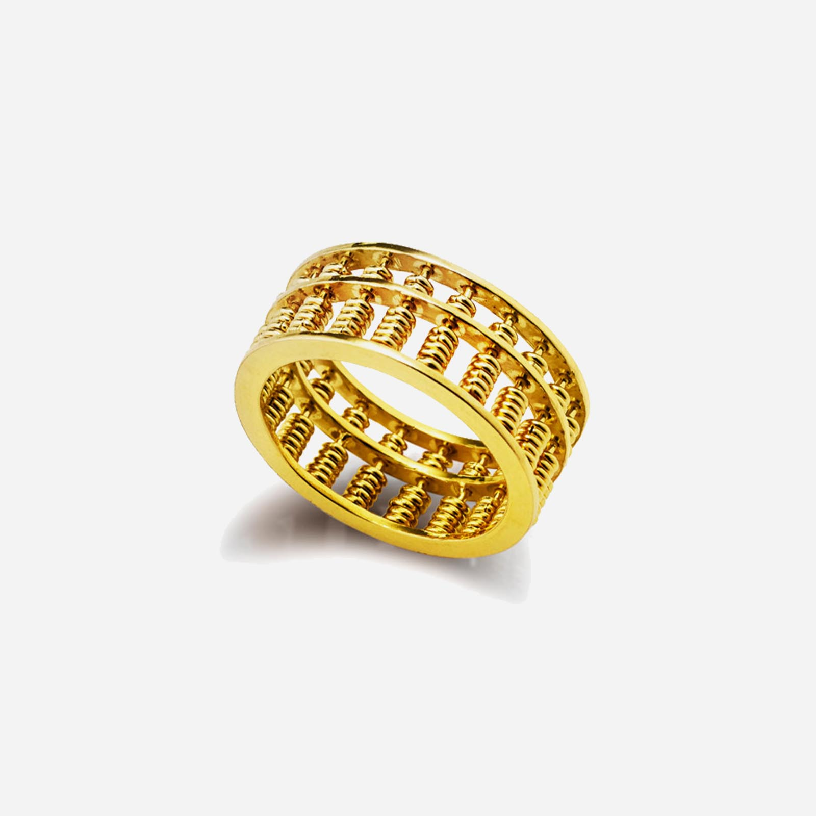 Abacus Ring (8mm)