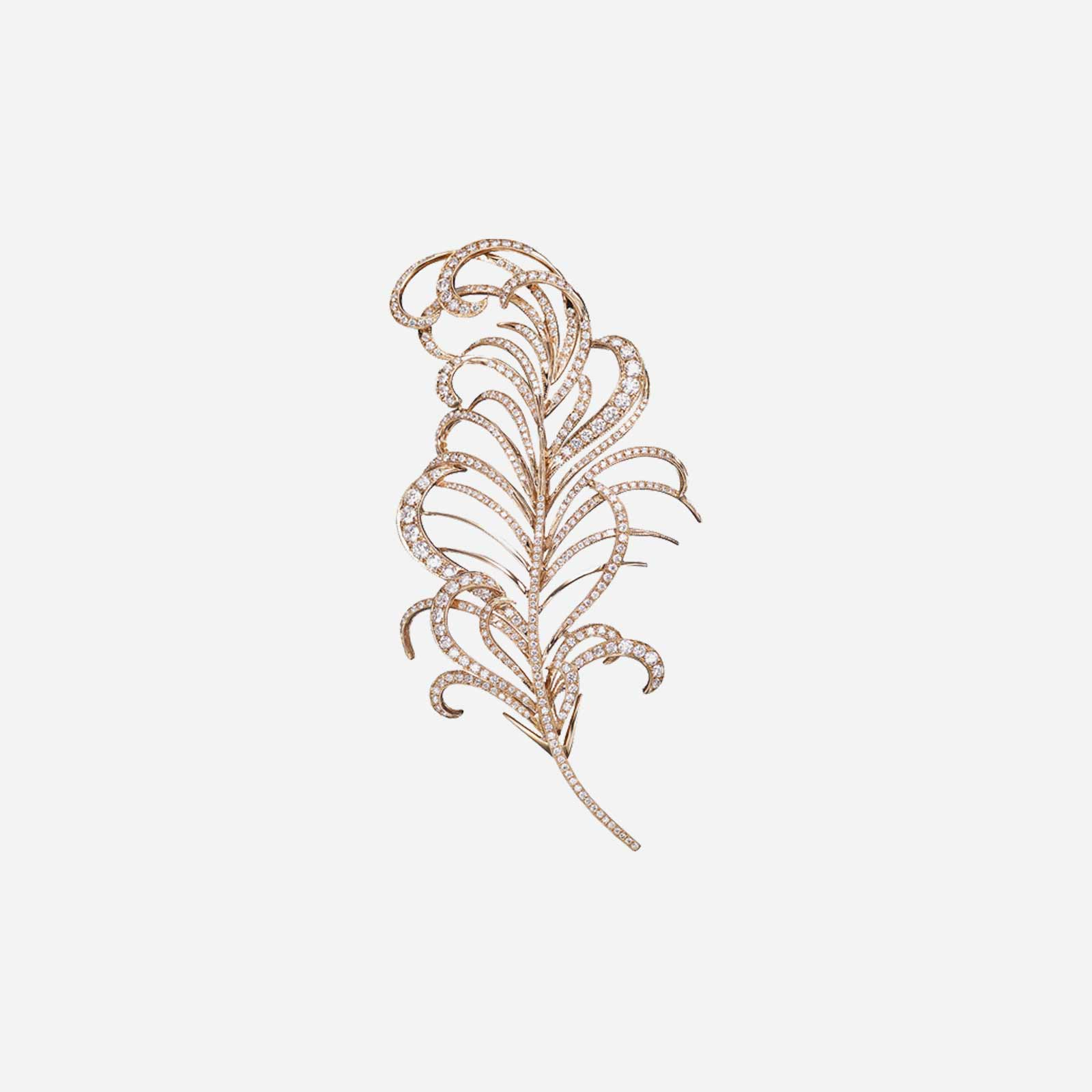 The Queen's Feather Brooch