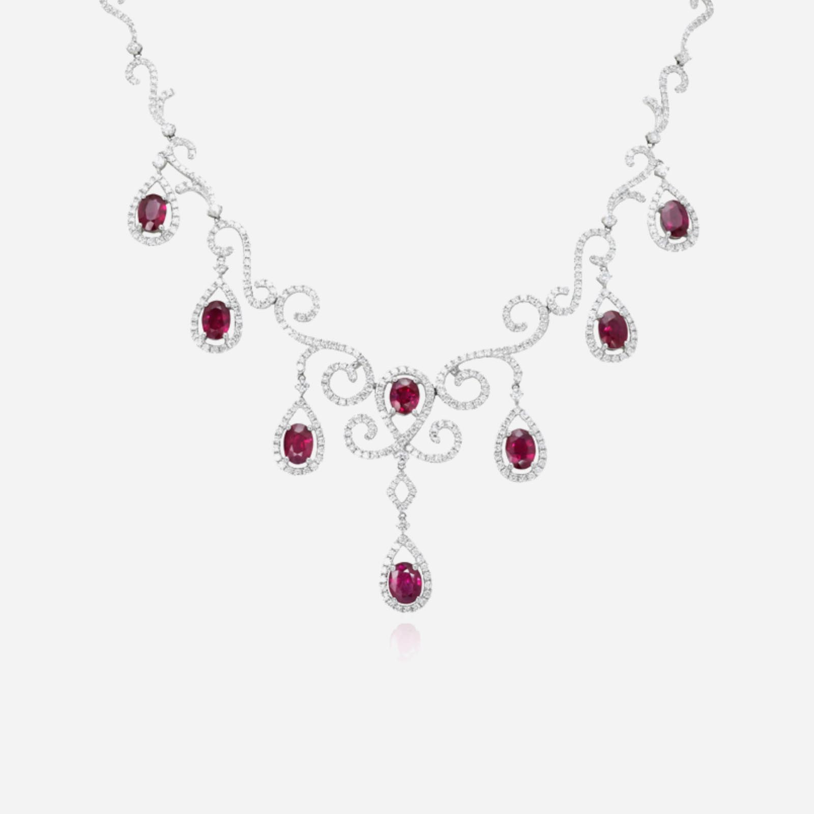 Your Majesty Ruby Necklace
