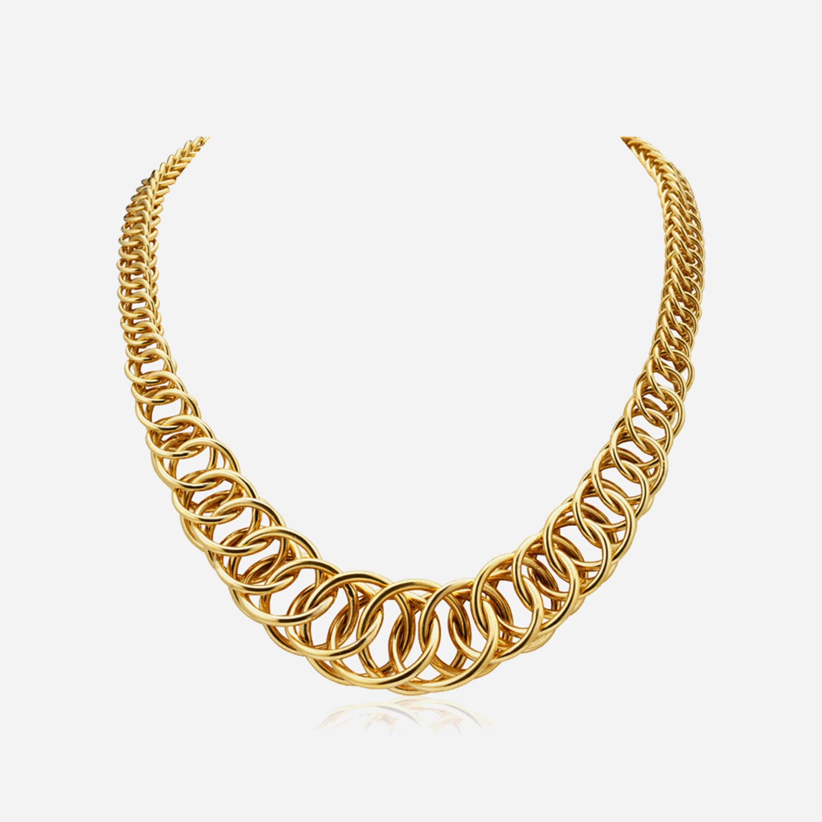 Royal In Gold Necklace