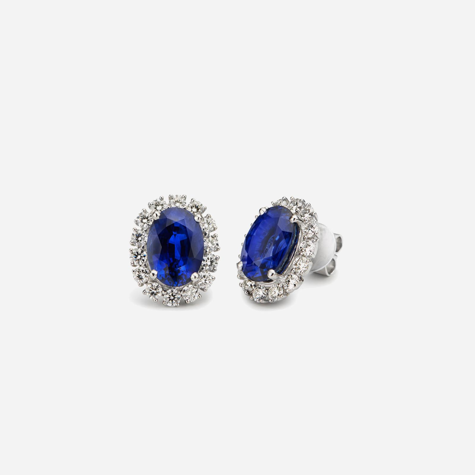 Blue-sapphire Passion Beauty Earrings