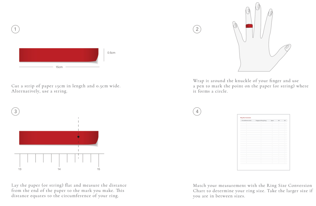 a9d70add43592 Ring Size Guide - Poh Heng Jewellery