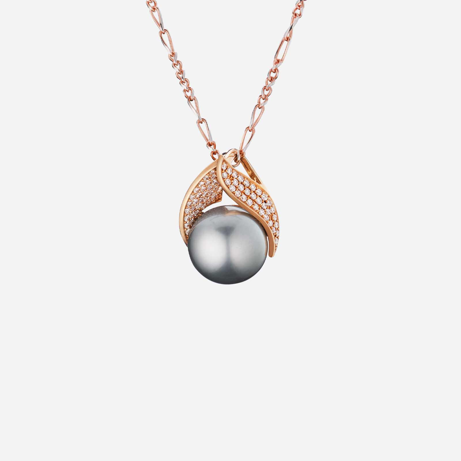 Pearl of the Night Pendant