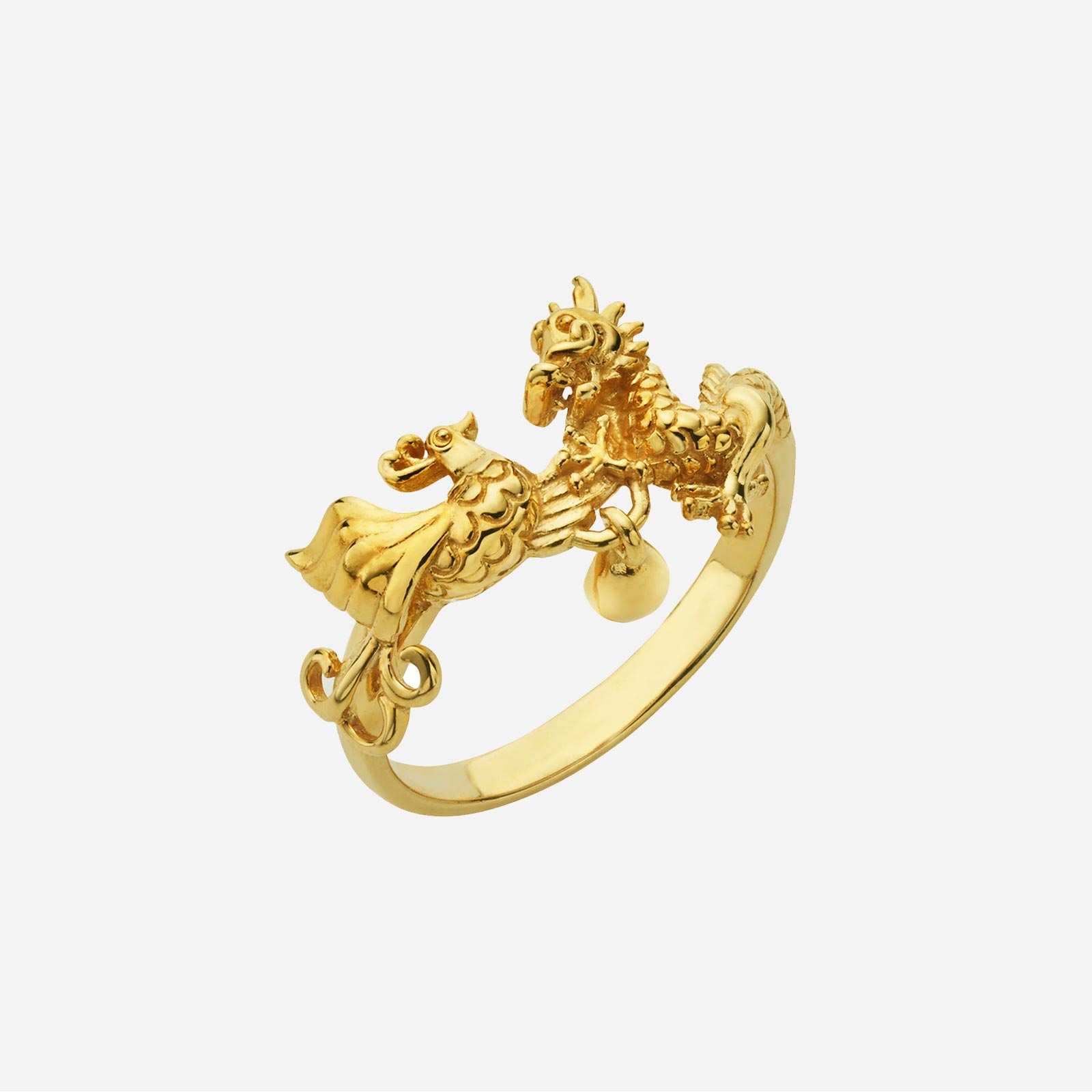 Dragon Phoenix Ring