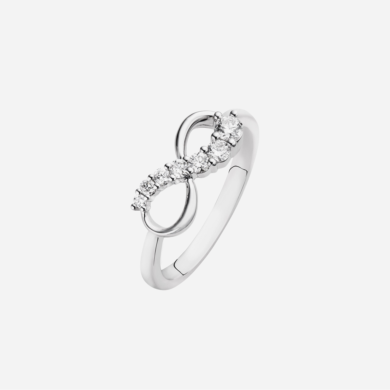 Love Journey Infinity Ring