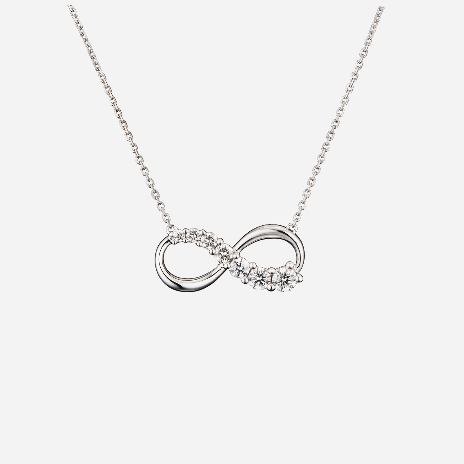 Love Journey Infinity Necklace