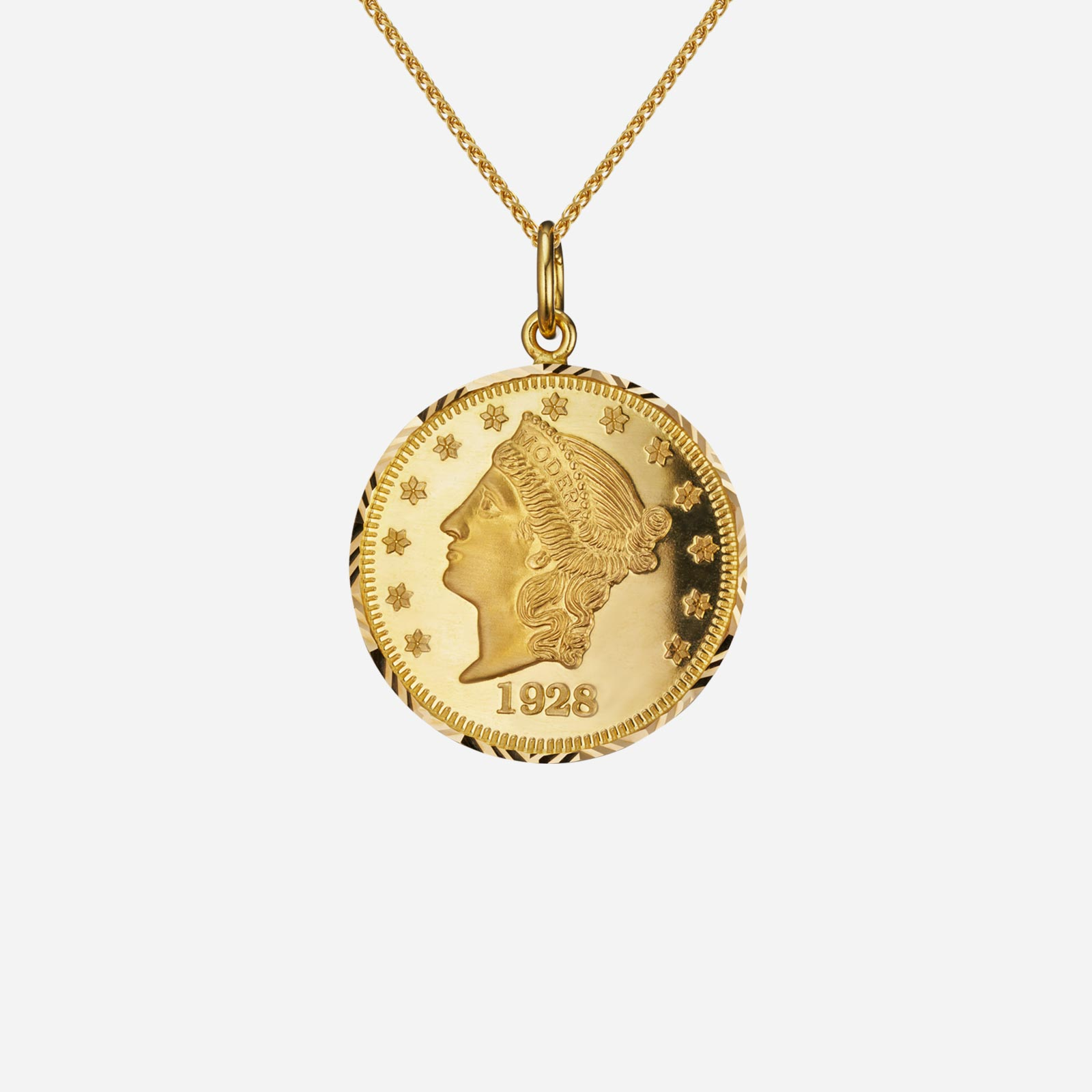 Lady Liberty Coin Pendant (23mm)