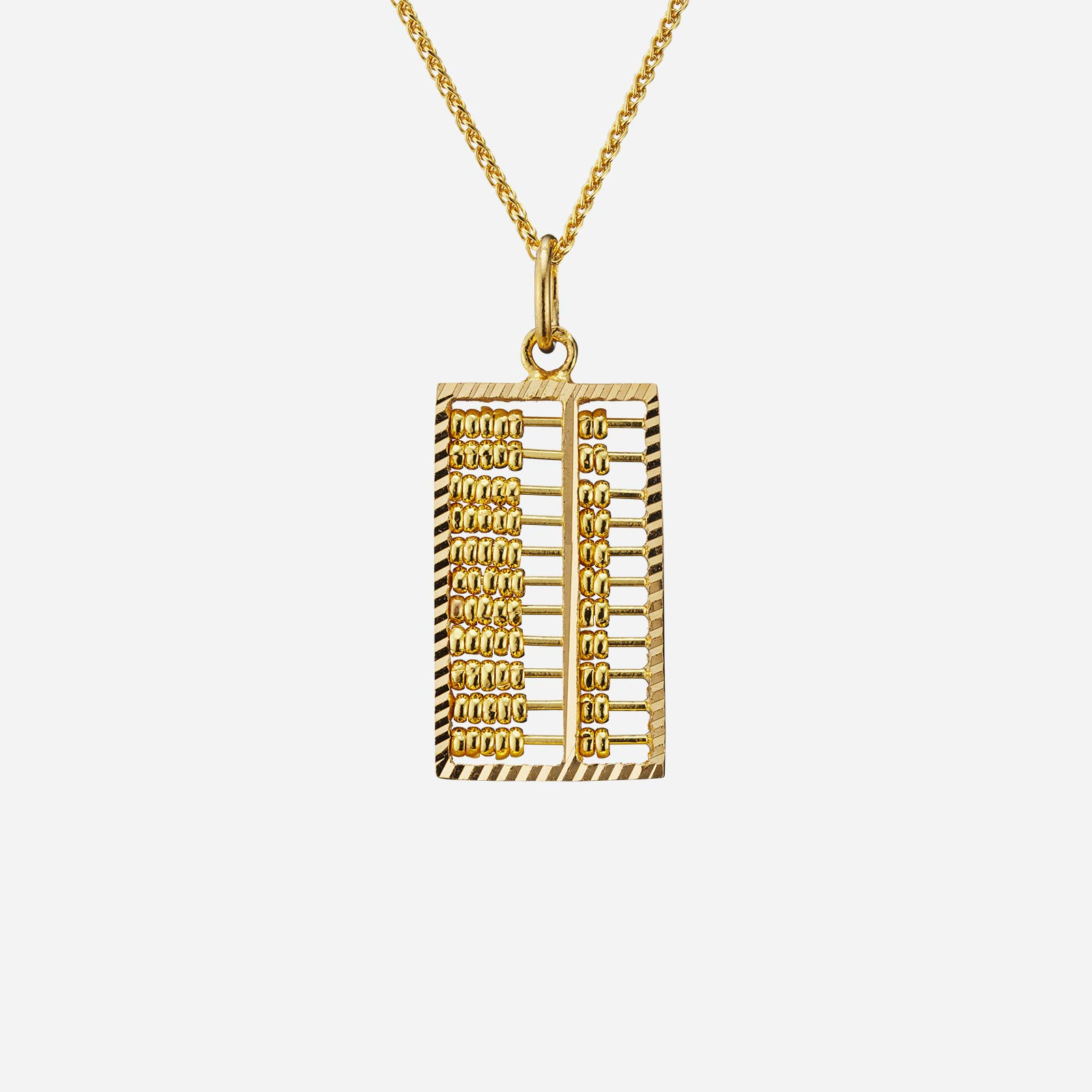 Abacus Pendant (28mm)