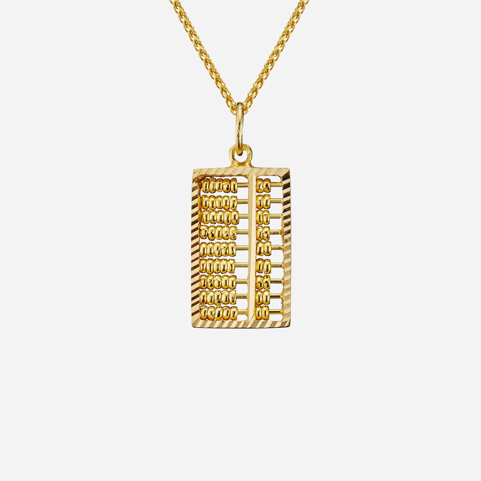 Abacus Pendant (21.5mm)